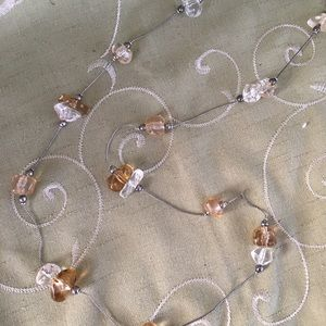 """Jewelry - Chunky """"Crystal"""" necklace"""